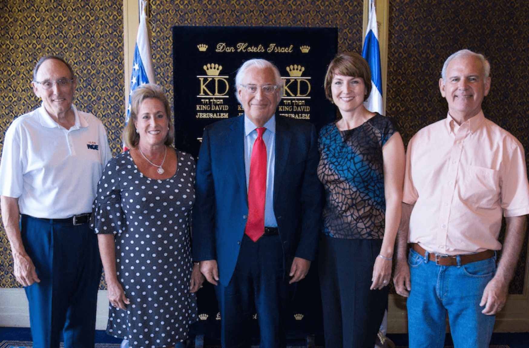 Left to Right: Rep. Phil Roe, Rep. Ann Wagner, U.S. Ambassador to Israel David Friedman, Rep. Cathy McMorris Rodgers, Rep. Bradley Byrne