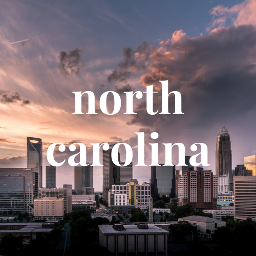 north carolina button